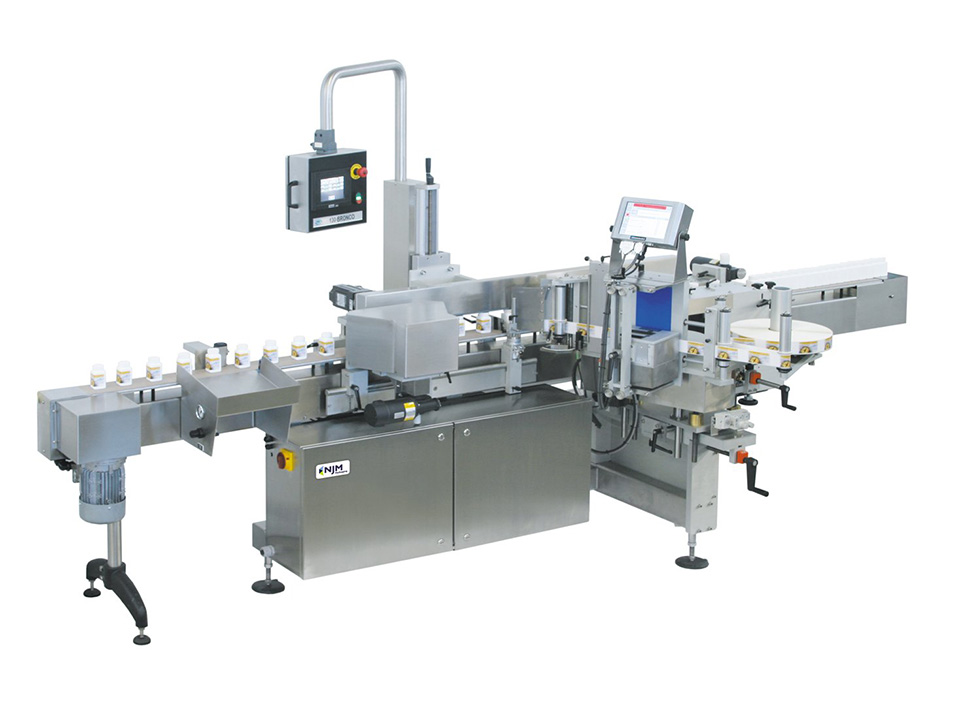 Bronco Automatic Labeling Machine Full View - Model 130  - Labelers